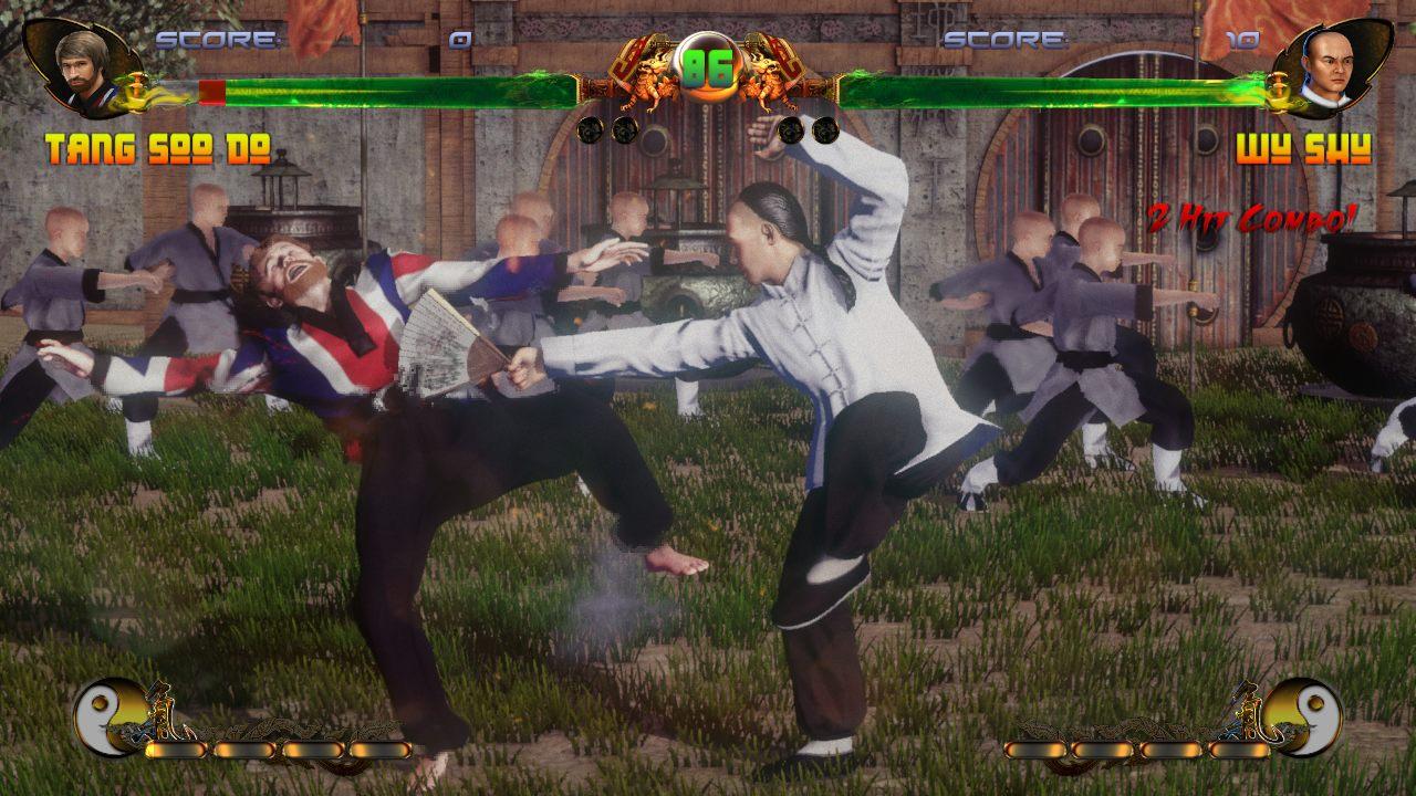 Shaolin vs Wutang gameplay