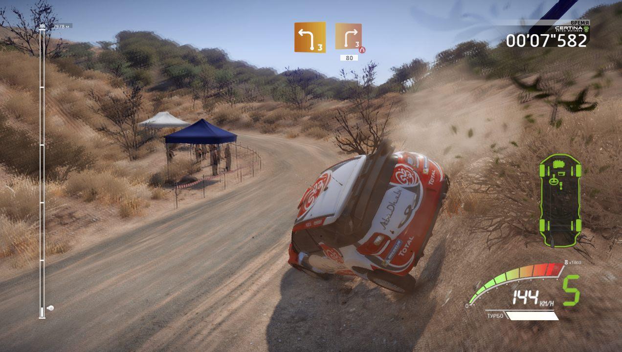 WRC 7 FIA World Rally Championship gameplay