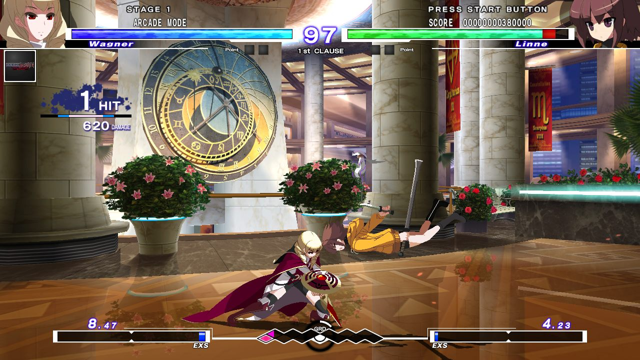 UNDER NIGHT IN-BIRTH Exe:Late[st] gameplay