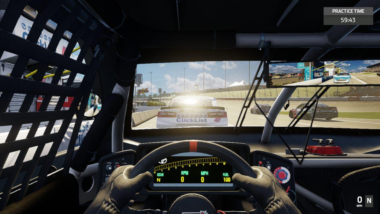 NASCAR Heat 3 gameplay