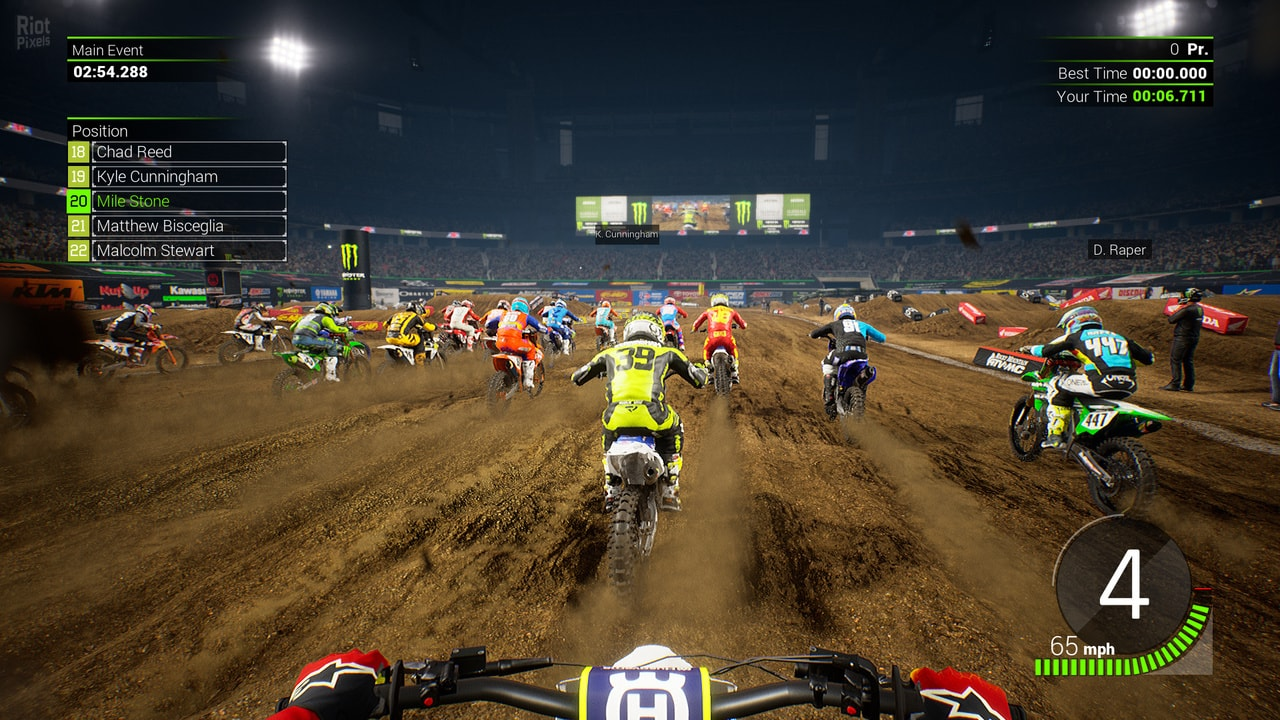 Monster Energy Supercross: The Official Videogame 2 gameplay