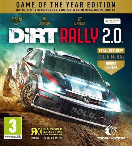Игра DiRT Rally 2.0: Game of the Year Edition